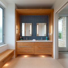 contemporary bathroom by blurrdMEDIA