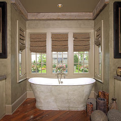 bathroom by Antique Building Materials, Inc.