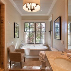 Rustic Bathroom by Morgan-Keefe Builders, Inc.
