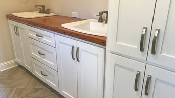 Reclaimed Pine Counter Tops