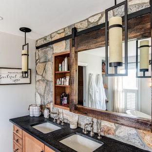 Reclaimed Rustic Barn Door Mirror Medicine Cabinet