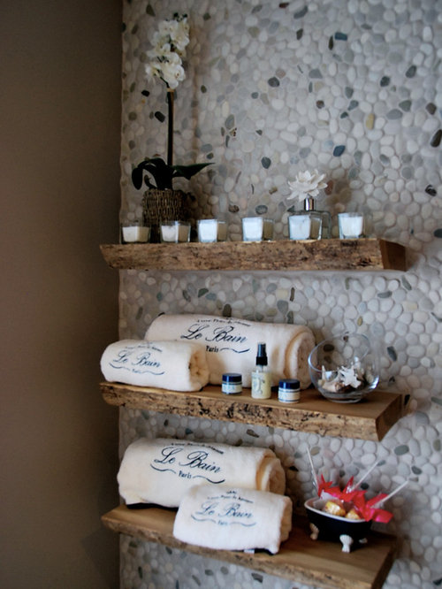 Live edge mantle houzz for Buy reclaimed wood los angeles