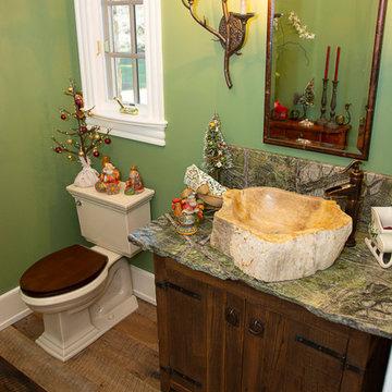 Reclaimed White Oak Barn Wood Floor in Bucks County, PA