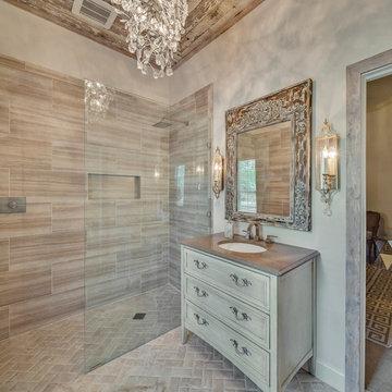 Reclaimed Wood Bathroom