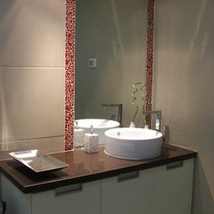 modern bathroom by Gila Zeliger