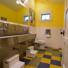 Contemporary Bathroom by Robert Baumann, Architect