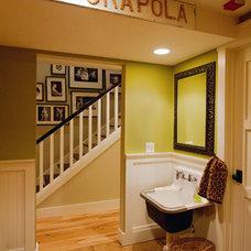 Traditional Bathroom by Robert Baumann, Architect
