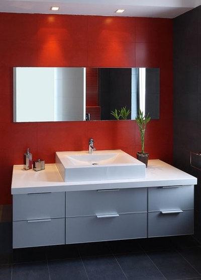 Superb Modern Bathroom by orit galili