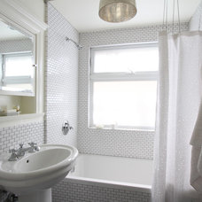 Transitional Bathroom by Design Vidal