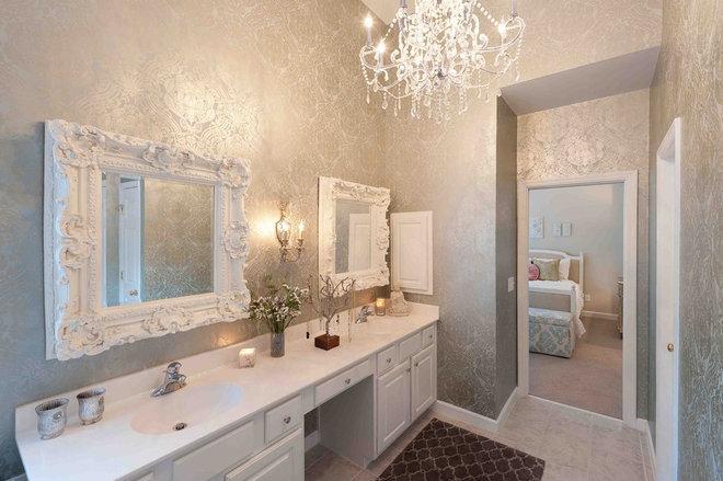 Contemporary Bathroom by Heather ODonovan Interior Design