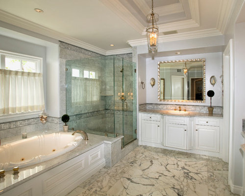 Marble Tub Surround | Houzz