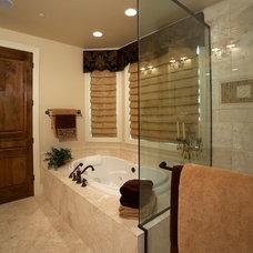 Traditional Bathroom by Stackman Custom Homes Inc.