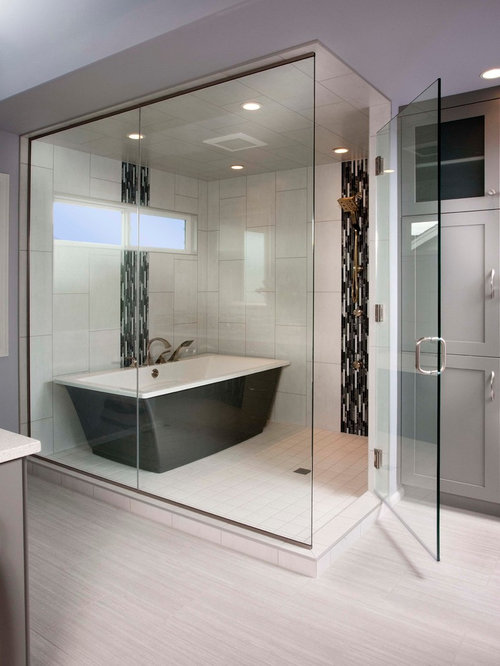Tub Inside Shower Houzz