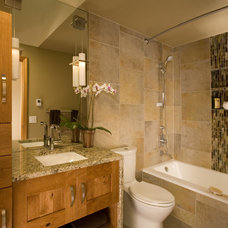 Contemporary Bathroom by Riddle Construction and Design