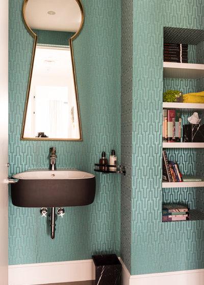 Contemporary Bathroom by Les Ensembliers