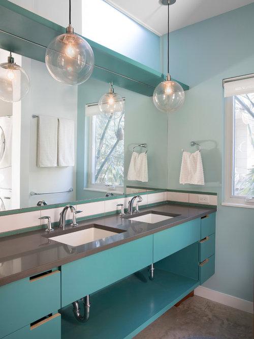 quartz bathroom countertop ideas, pictures, remodel and decor