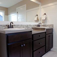 Contemporary Bathroom by Jim Tibbe Homes