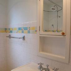 Eclectic Bathroom by L.EvansDesignGroup,inc