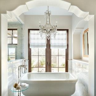75 Mediterranean Bathroom Design Ideas Stylish