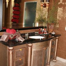 Eclectic Bathroom by VM Concept Interior Design Studio