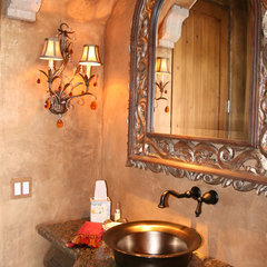 mediterranean bathroom by VM Concept Interior Design Studio