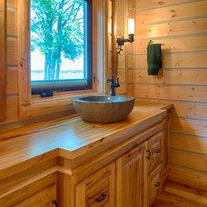 Rustic Bathroom by Destree Design Architects, Inc.