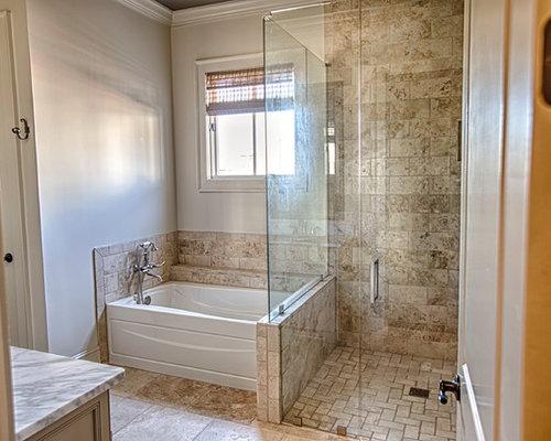 Bathroom Design Ideas Remodels Photos With A Corner Shower
