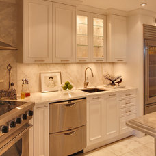 Traditional Bathroom by JACK ROSEN CUSTOM KITCHENS