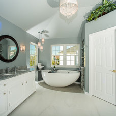 Contemporary Bathroom by Brandie McCoy, CKD