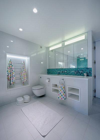 Contemporary Bathroom by marco joe fazio photography