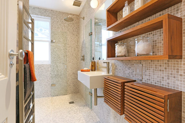 Contemporary Bathroom by Inter Urban Studios Ltd