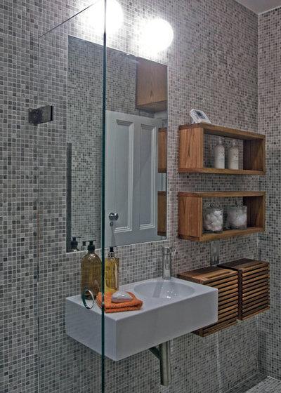 Modern Bathroom by Inter Urban Studios Ltd