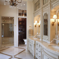 Traditional Bathroom by Barnard  & Speziale | The Interior Design Company