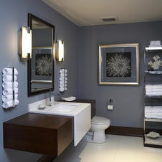 Contemporary Bathroom by Barnard  & Speziale | The Interior Design Company
