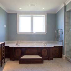 Traditional Bathroom by karzen-langan construction inc