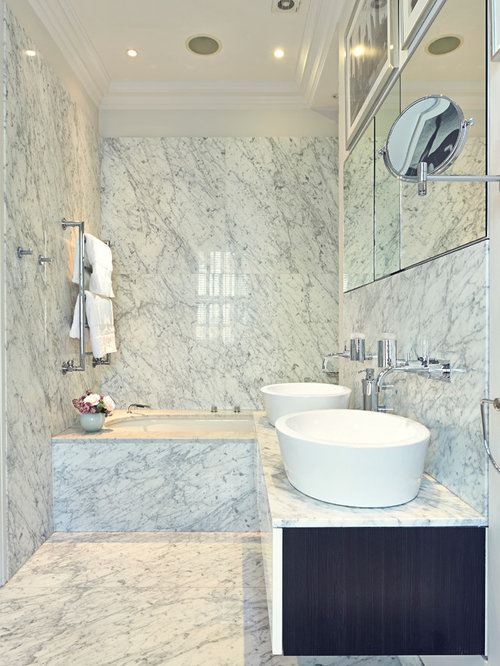 Marble Bathroom Houzz