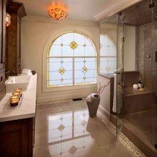 Traditional Bathroom by Regina Sturrock Design Inc.