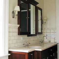 traditional bathroom by Reginald L. Thomas Architect LLC.