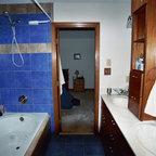 Powder Room Makeover Traditional Bathroom Cleveland