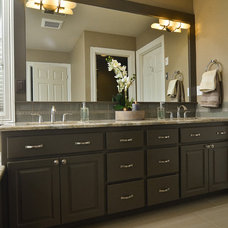 Transitional Bathroom by Mountainwood Homes