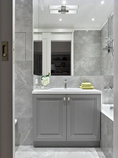 Неоклассика Ванная комната by Victoria Vlasova Interiors