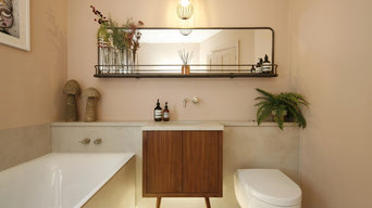 Relaxing Bathroom, Kensal Rise by Born & Bred Studio
