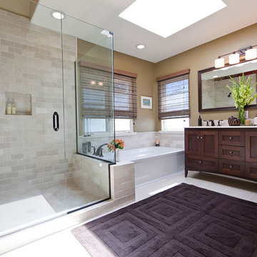 Relaxing Space Traditional Bathroom Remodel