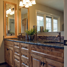 Traditional Bathroom by KRT Construction