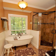 Eclectic Bathroom by CASE Design/Remodeling Birmingham