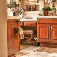 Mediterranean Bathroom by Suzanne O'Brien