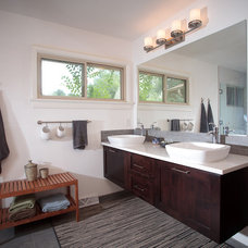 Modern Bathroom by HighCraft Builders