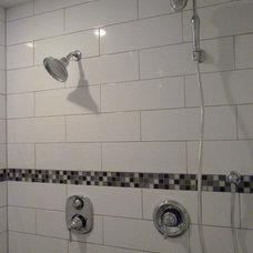 Traditional Bathroom Remodeled master bathroom suite