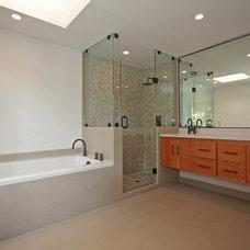 Contemporary Bathroom by X3D GROUP LLC