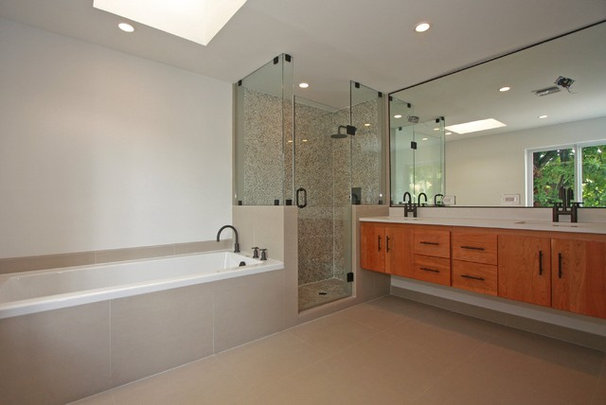 Contemporary Bathroom by X3D GROUP LLC